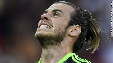 Bale had a couple efforts from long-range but failed to find a way past the Portuguese defense.