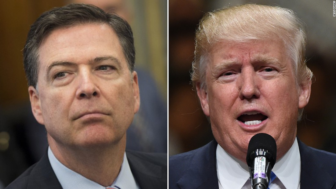 James Comey mum on possible FBI inquiry into any Trump ...