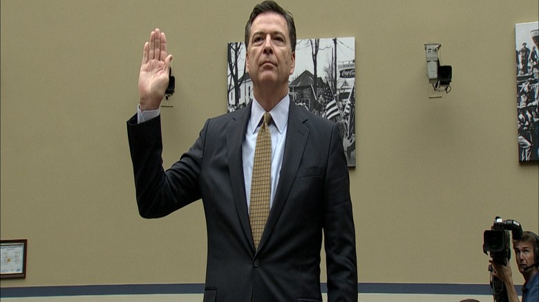 James Comey's day on Capitol Hill in 90 seconds