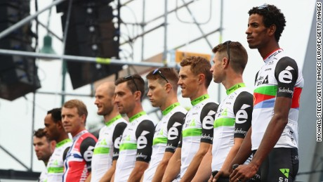 Team Dimension Data lining up in France in June this year.