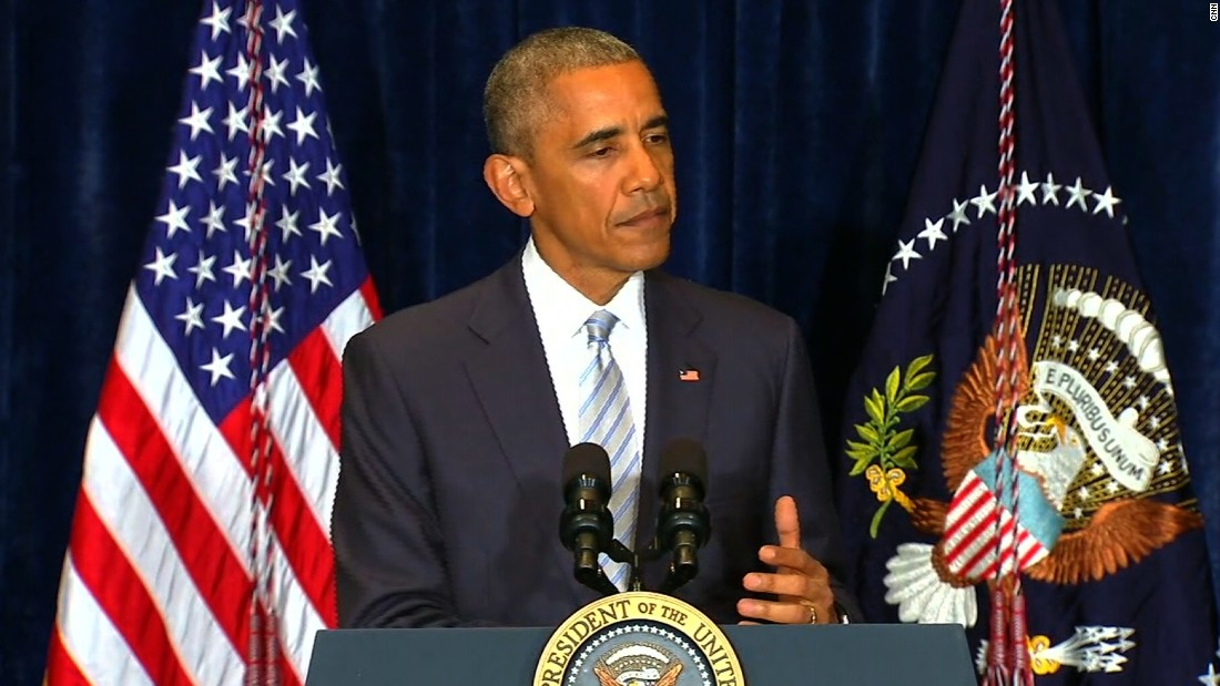 Obama on police shootings: 'This is not just a black issue'