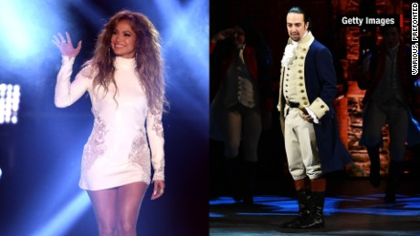 "'Hamilton' star collaborates with Jennifer Lopez to benefit Orlando shooting victims  Jennifer Lopez and ""Hamilton"" creator Lin-Manuel Miranda have teamed up to record new a song that will benefit victims of the Orlando shooting at Pulse nightclub."