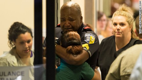 Officers shot during Dallas protest