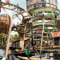 Lagos shanty megastructures 3