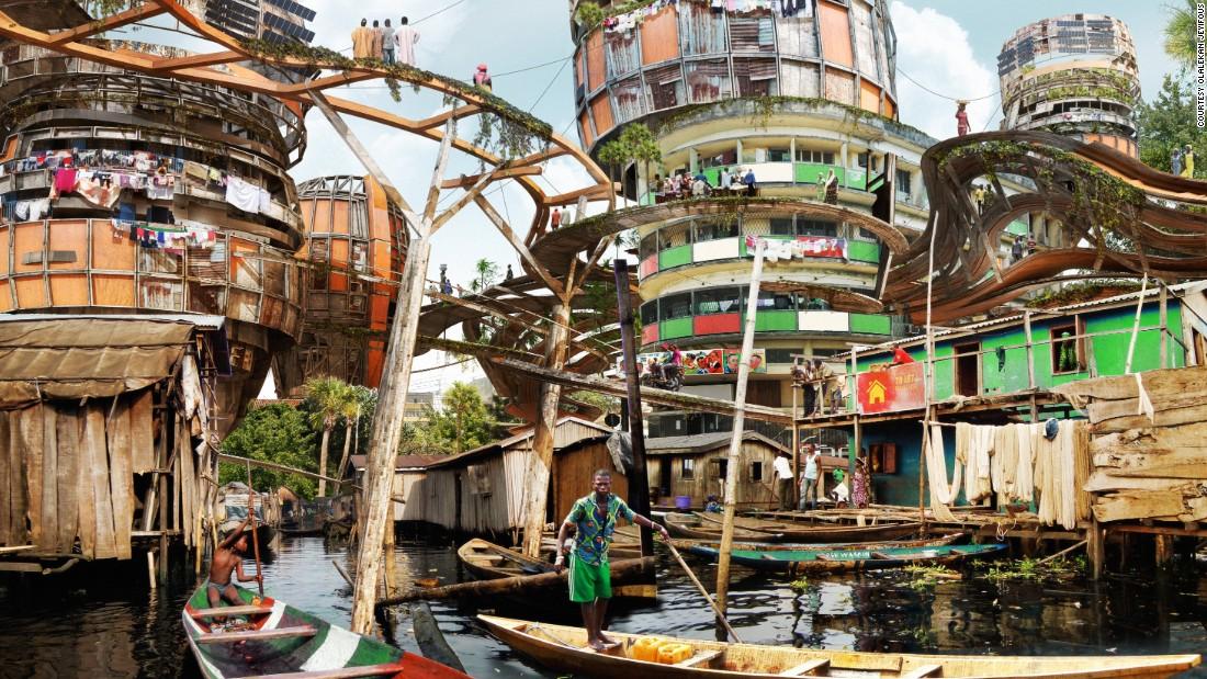 Lagos 2050: Shanty megastructures? - CNN