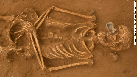 First ever Philistine cemetery discovered