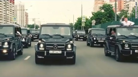 "New graduates of Russia's FSB academy appear to love the ""geliki,"" the nickname of the Mercedes-Benz G-Klasse SUV, a common carrier of Moscow's rich and famous."