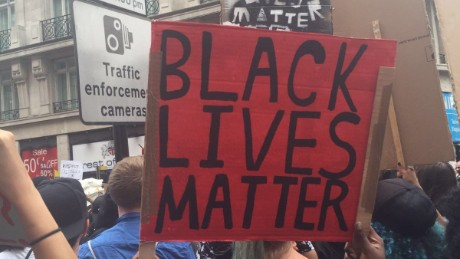 Black Lives Matter protest London