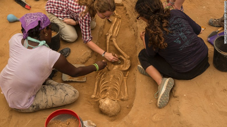 3,000-year-old Philistine cemetery discovered