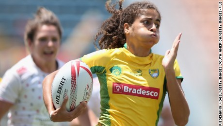 Rugby project in 'Paradise City' favela offers youngsters Olympic dream