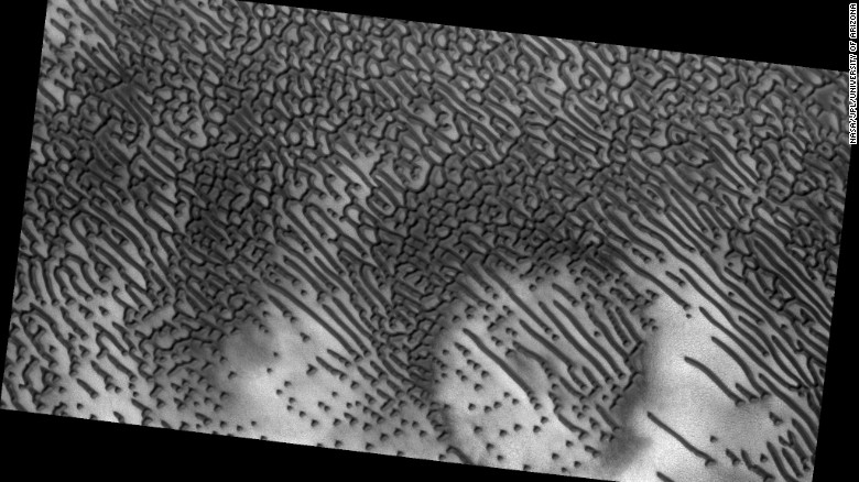 Morse code spotted on Mars?