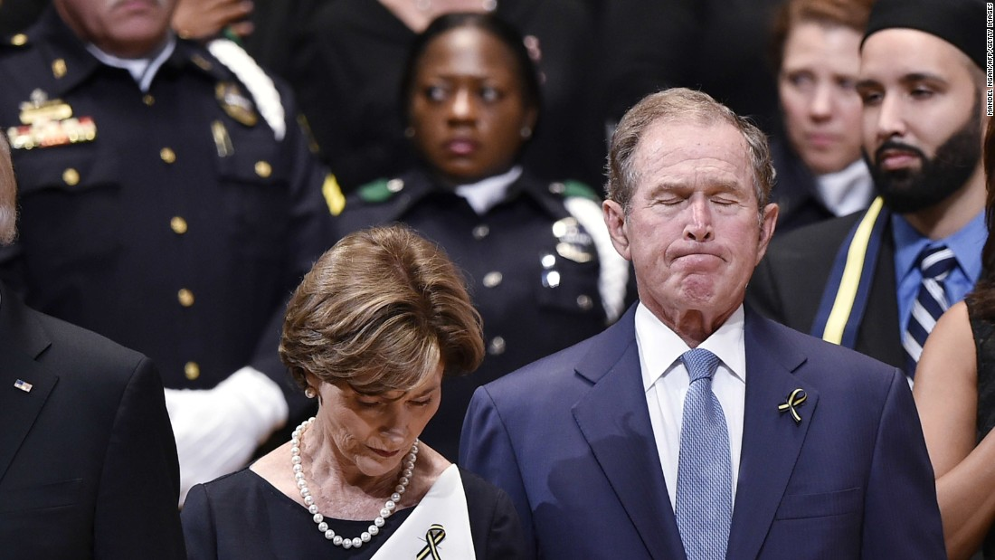 Everything, that George w and laura bush