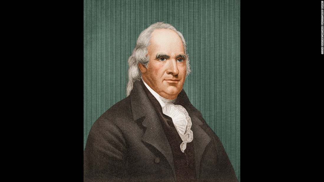 "Clinton, the first governor of New York, served as vice president to both Thomas Jefferson and James Madison. He was famous even before he shared a name with the more <a href=""http://api.ning.com/files/Ibueig77C7oU4sWEPqQzHuV7sg-MKVJtb9synD8tzkKE-WZTnDujCiBTFEpaEyHNJc20i3sLUbz0CqabZsjAS9PNanU2n5aV/GeorgeClinton1.jpg"" target=""_blank"">well-known funk musician.</a> In 1812, he became the first vice president to die in office (heart attack)."