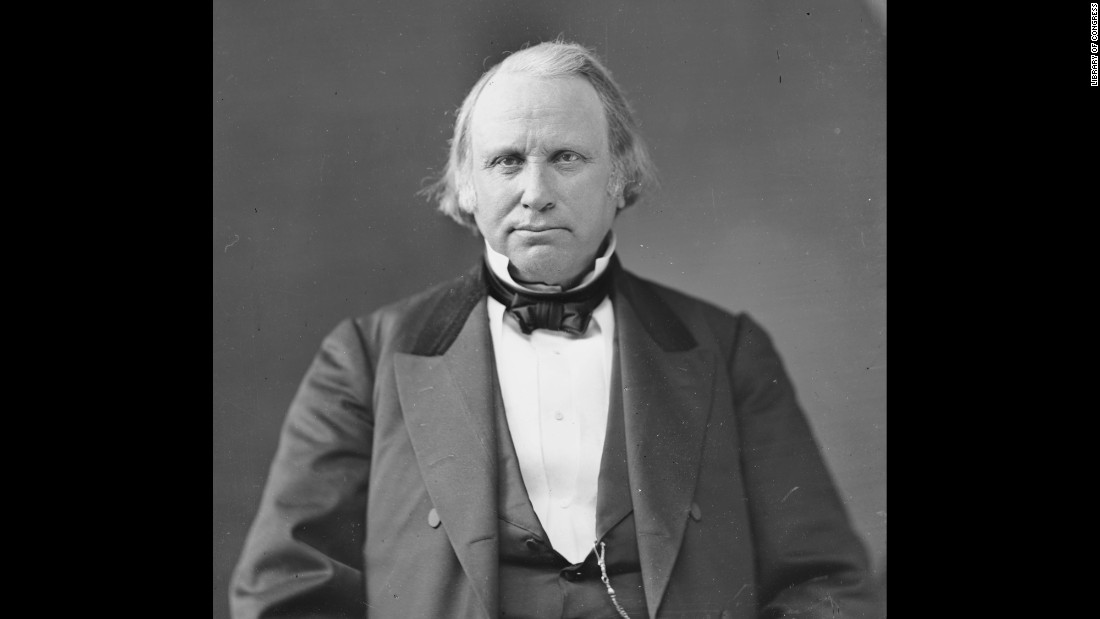 Massachusetts native Wilson was anti-slavery and a Radical Republican after the Civil War -- he introduced the bill that would abolish slavery in the nation's capital in 1861. Grant's second vice president, Wilson suffered from ill health and died of a stroke before completing his term.