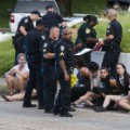 Baton Rouge protest arrest 0710