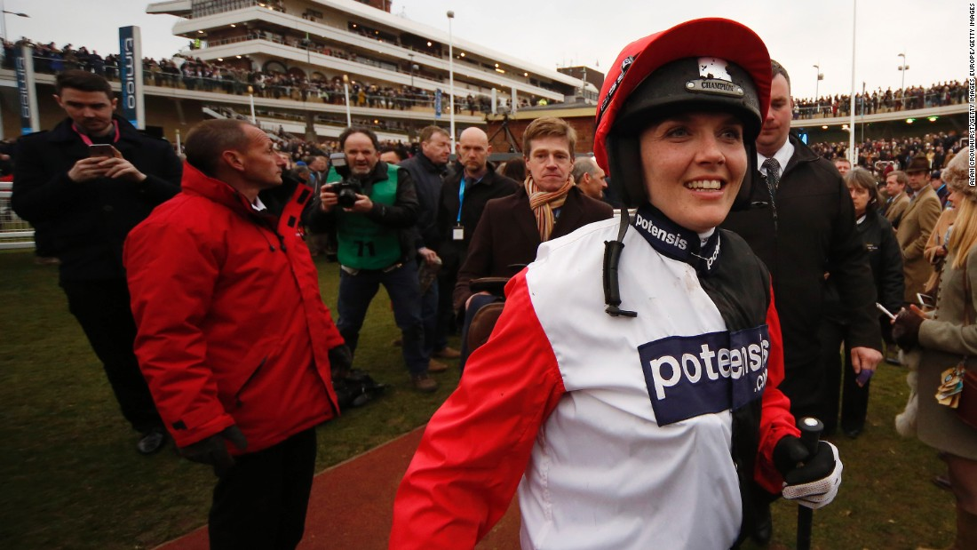 The women are following a similar path to that of Olympic cyclist Victoria Pendleton, who raced at this year's Cheltenham Festival after taking up horse riding for the first time in March 2015.