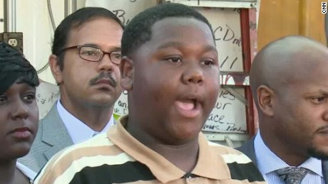 Alton Sterling's son speaks out