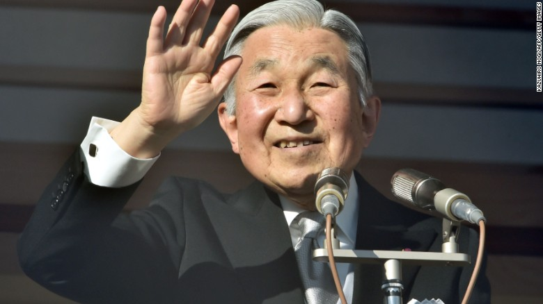 Who is Japan's Emperor Akihito?