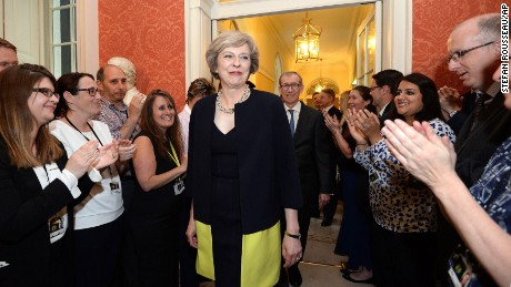 Theresa May becomes new British Prime Minister