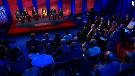 The most compelling quotes from CNN's town hall on race, police