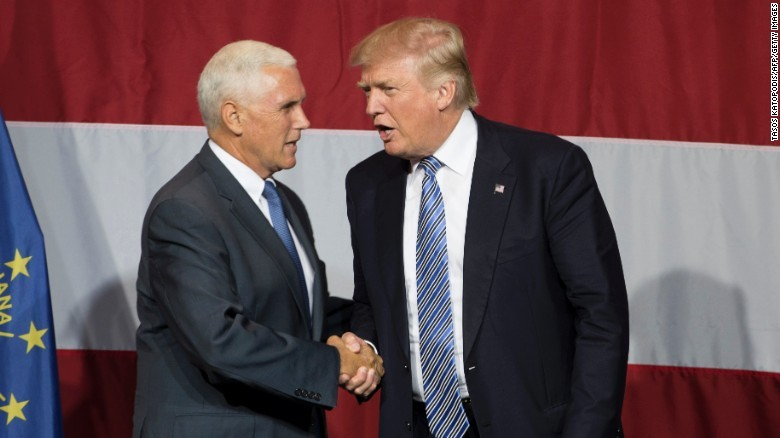Donald Trump-Mike Pence: The unlikely duo - CNNPolitics