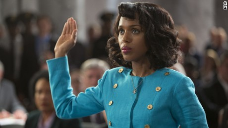 Kerry Washington as Anita Hill in HBO's 'Confirmation.'