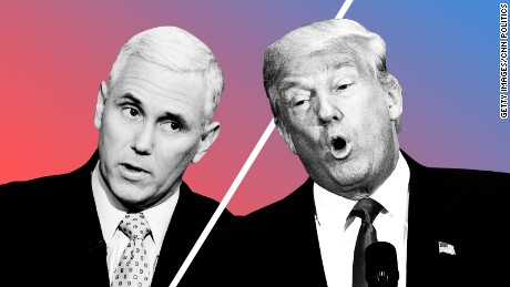 mike pence donald trump disagree issues t1