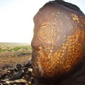 african rock art Kenya - Batwa site