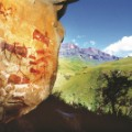 african rock art South Africa -  San paintings reup