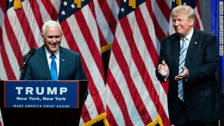 Is Mike Pence OK with Donald Trump's bigoted remarks?