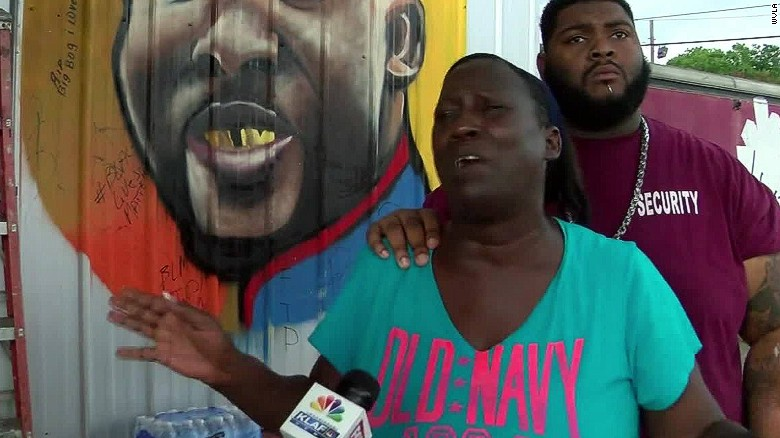 Sterling family's emotional response to police shooting