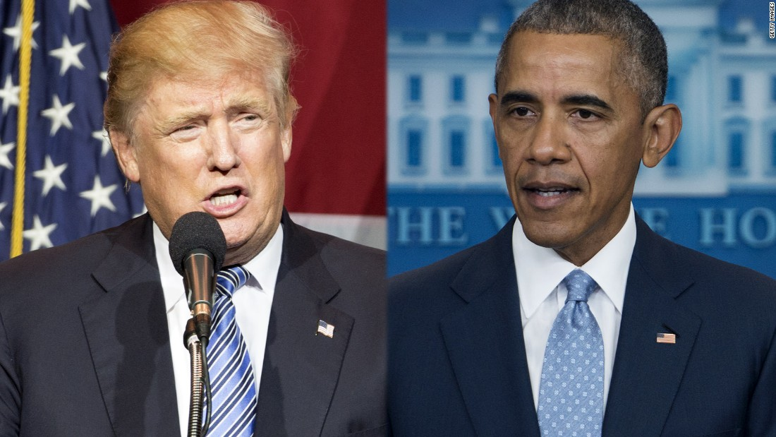 Donald Trump says 'there's something going on' with Obama's body language