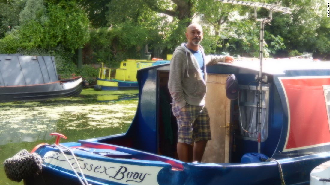 """Over the last five years it has gone absolutely crazy,"" says David Akinsanya, who has spent 17 years on the canals, but rarely stays in London due to overcrowding."
