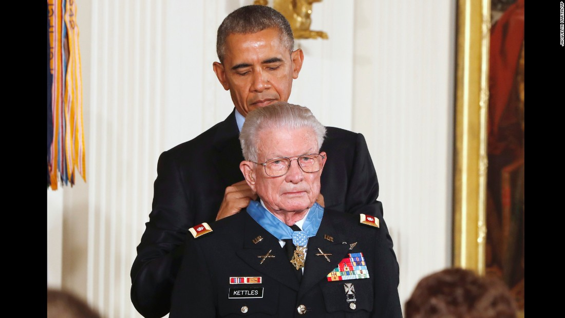 Despite wounds, Medal of Honor recipient killed up to 175 enemies, saved comrades
