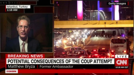 Forces loyal to Erdogan thwarted coup