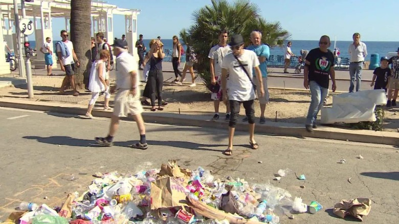 French feel grief, anger over Nice attack