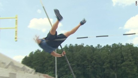 So you think you can pole vault?