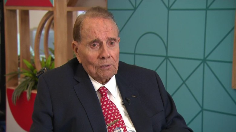 Bob Dole receives Congressional Gold Medal Wednesday