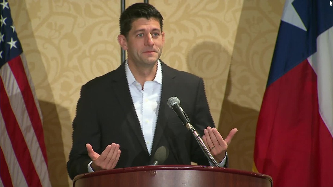 Paul Ryan fumbles football analogy to describe GOP divide