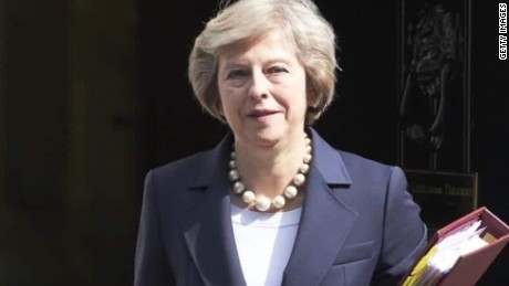 Theresa May Fast Facts