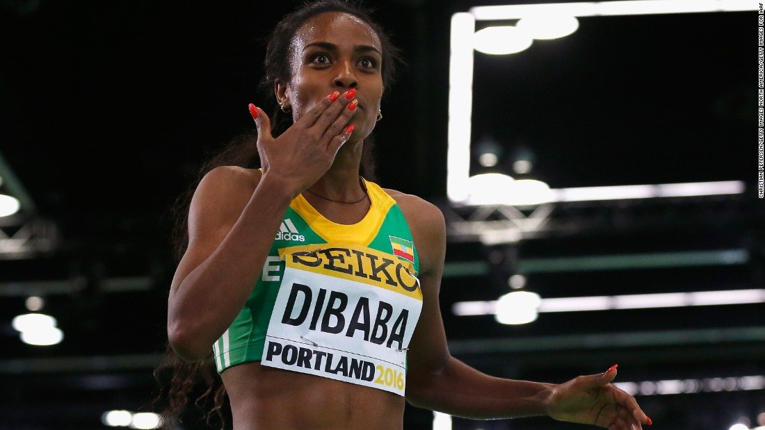 Genzebe Dibaba was named as the Laureus female athlete of the year in 2015 after breaking three world records in two weeks, setting new marks in the 1,500m indoor, 3,000m and two mile indoor events. The Ethiopian, 25, will be going for gold in the 1,500m.