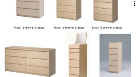 IKEA Recalled Certain Dressers Last Year.