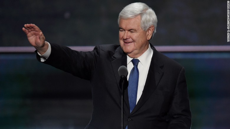 Gingrich takes a swipe at Obama's legacy