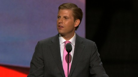 Eric Trump: It's time for a president with common sense