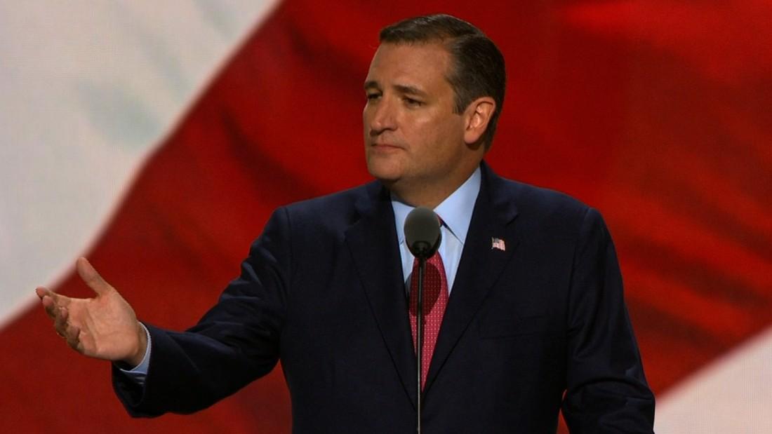 Why not endorse Trump? I'm not 'a servile puppy dog' Cruz tells Texas delegation
