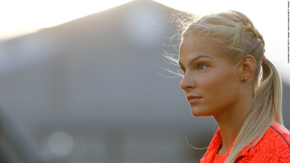 Long jumper Darya Klishina will be the only Russian track and field competing at Rio 2016.