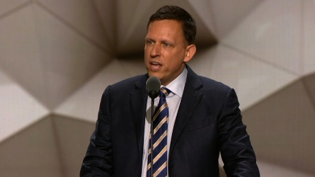Peter Thiel's entire Republican convention speech