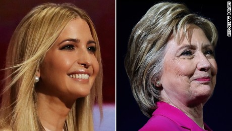 Who said it: Ivanka Trump or Hillary Clinton?