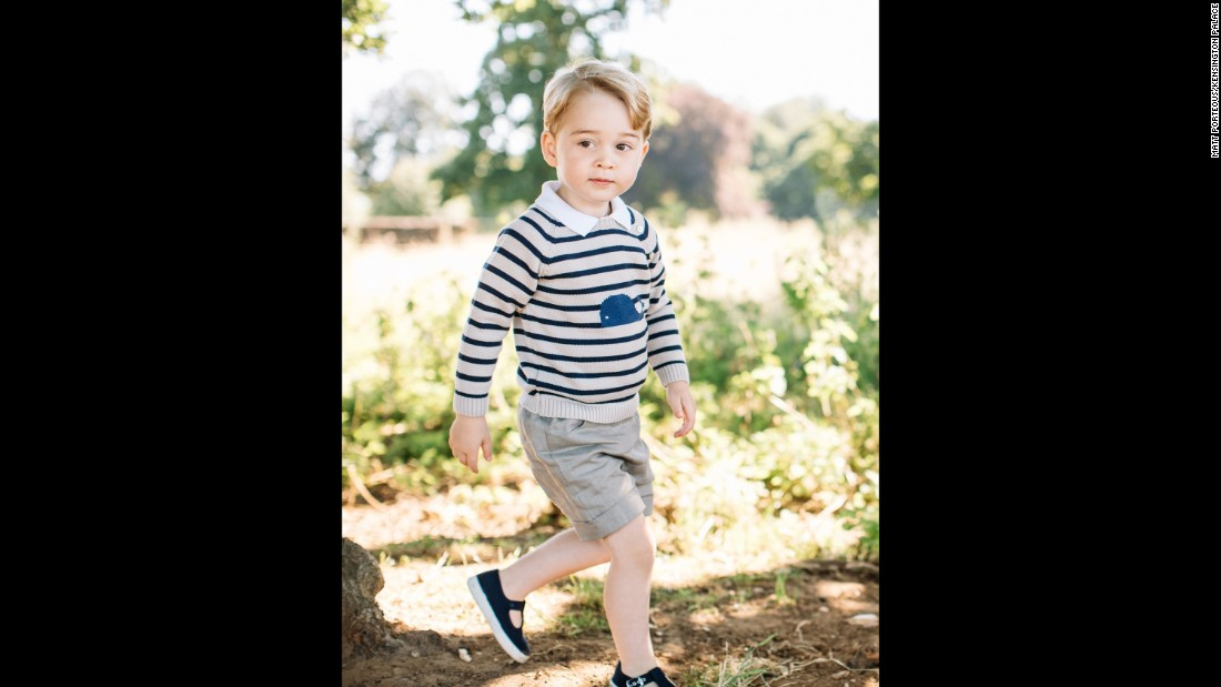 """I really enjoyed the opportunity to take these photographs of Prince George,"" photographer Matt Porteous said in a statement. ""It was a very relaxed and enjoyable atmosphere."""