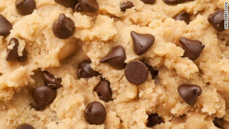 Yes, it's OK to eat raw cookie dough